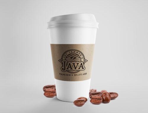 Joy Jammer's Java Coffee Sleeves