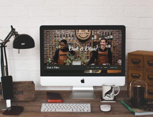 Oak & Olive Website