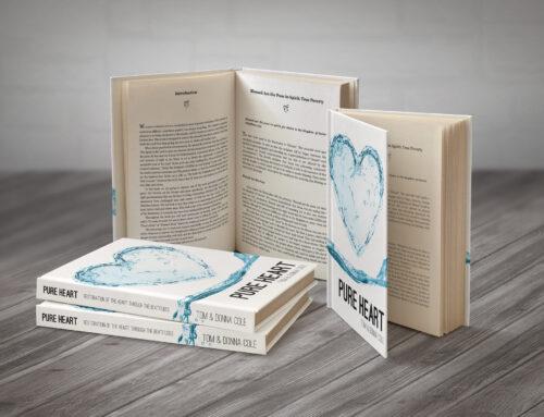 Pure Heart Book Design